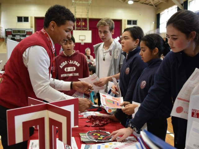 Choose Japan College Fair 2019 at A-JIS
