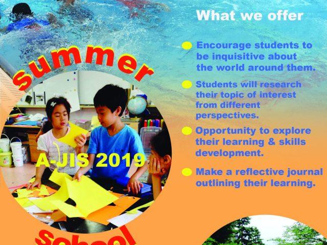 Summer School Registration Open