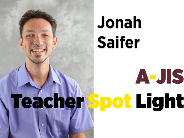 Meet New Teacher Jonah Saifer