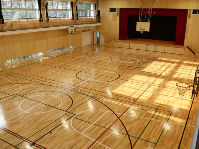 Gym Renovation Complete