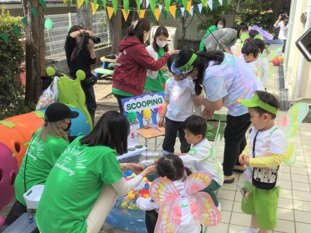 Meguro campus celebrated Spring Carnival!