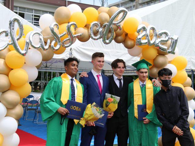 Aoba Class of 2021 Graduates